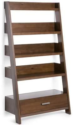 Brayden Studio Aminah Ladder Bookcase Brayden Studio