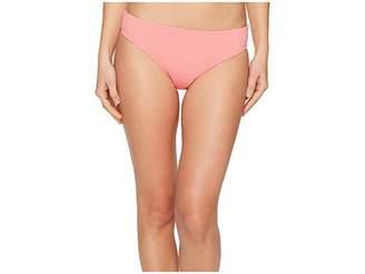 Letarte Solid Full Coverage Bikini Bottom Women's Swimwear
