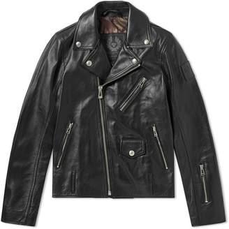 Belstaff x SOPHNET. Harden Leather Biker Jacket