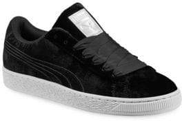 Puma Women's Basket Classic Velour VR Sneakers