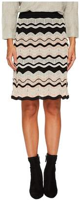 M Missoni Ripple Ribbon Skirt Women's Skirt