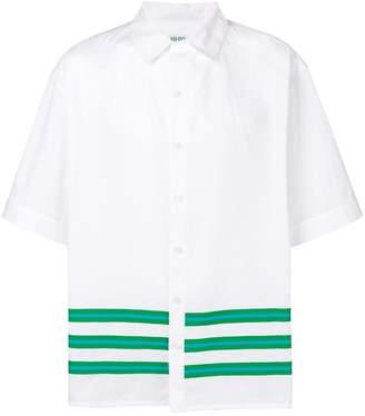 Kenzo stripe detail shirt