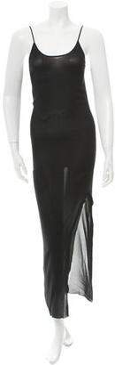 Jean Paul Gaultier Sheer Maxi Dress $110 thestylecure.com