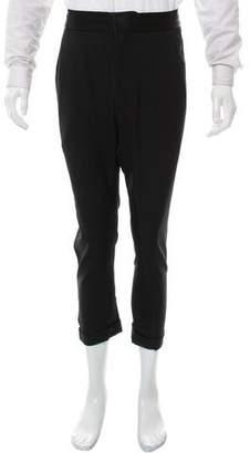 Haider Ackermann Wool Cropped Pants