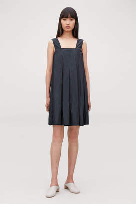 Cos TECHNICAL PLEATED DRESS