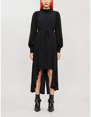 Ann Demeulemeester Asymmetric-hem rayon dress
