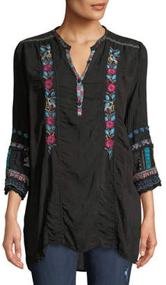 Johnny Was Swirl Patchwork Tunic