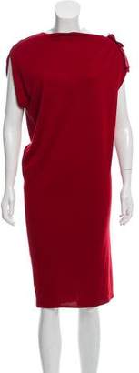Lanvin Bateau Neck Shift Dress