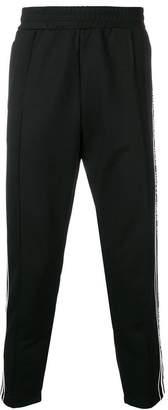 Versus logo stripe track pants
