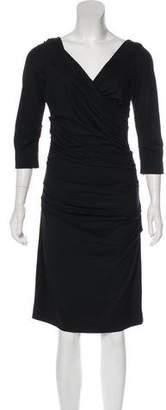 Diane von Furstenberg Bentley Ruched Dress