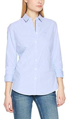 Crew Clothing Women's Classic Oxford Shirt Blue, 8