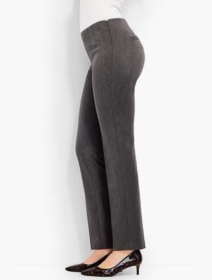Talbots Refined Bi-Stretch Side-Zip Straight-Leg - Curvy Fit