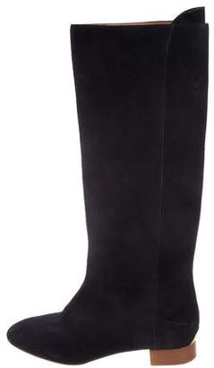 Chloé Suede Knee-High Boots