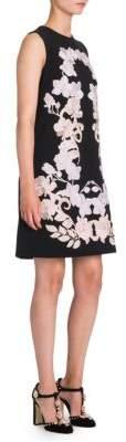 Dolce & Gabbana Lace Applique A-Line Dress