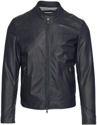 Manuel Ritz Faux Leather Biker