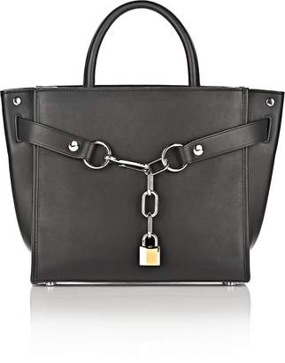 Alexander Wang Attica Chain Satchel In Black With Rhodium