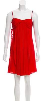 RED Valentino Sleeveless Silk Dress
