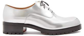 Christian Louboutin (クリスチャン ルブタン) - CHRISTIAN LOUBOUTIN Sopeter tread-sole leather derby shoes