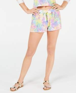 Miken Juniors' Tie-Dyed Cover-Up Shorts, Created for Macy's Women's Swimsuit