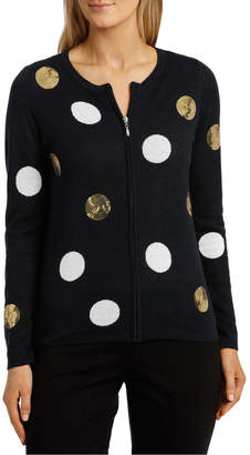 01be3e9ee Spotted Cardigan - ShopStyle Australia
