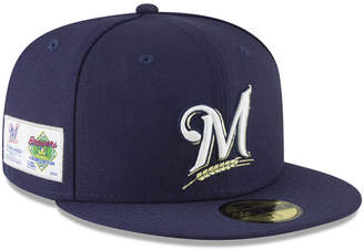 cf8a2988e11 at Macy s · New Era Milwaukee Brewers Jersey Custom 59FIFTY Fitted Cap