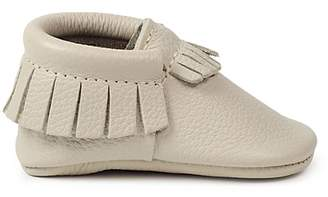Freshly Picked Infant Unisex Fringed Leather Moccasins - Baby $49 thestylecure.com
