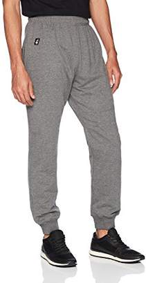 Flying Ace Men's French Terry Jogger Pant with Logo Embroidery