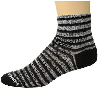 Wrightsock Coolmesh II Quarter Stripes Quarter Length Socks Shoes