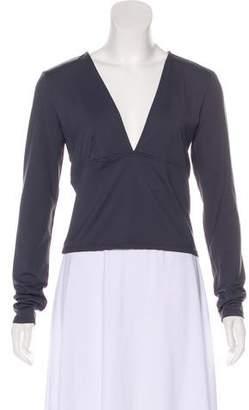 Leith V-Neck Long Sleeve Top