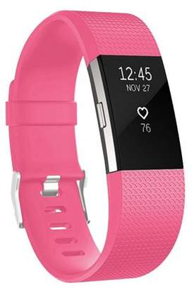 Fitbit EEEkit Charge 2 Band, Large Size Silicone Adjustable Replacement Wrist Strap for Charge 2