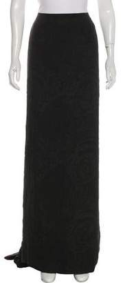 Christian Lacroix Silk Maxi Skirt
