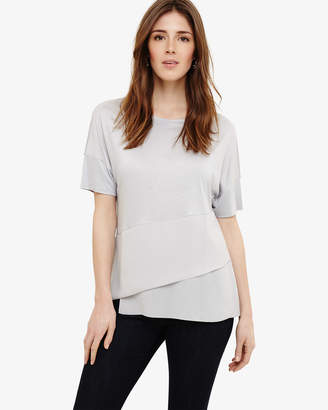 Phase Eight Afra Asymmetric Hem Top