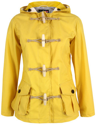Gloverall 4309 Yellow Duffle Coat