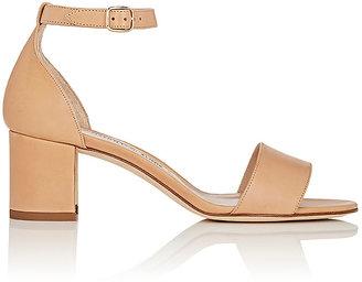 Manolo Blahnik Women's Lauratomod Sandals $745 thestylecure.com