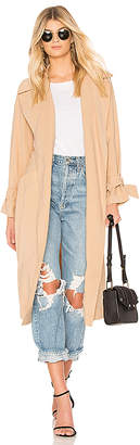 1 STATE Belted Trench Coat
