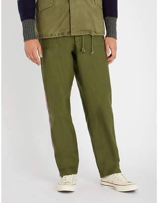 Polo Ralph Lauren Unisex patches relaxed-fit straight cotton cargo trousers