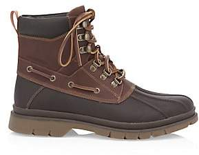 Sperry Men's Topsider Watertown Leather Combat Boots