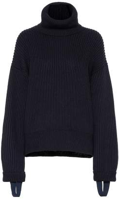 Helmut Lang (ヘルムート ラング) - Helmut Lang Wool and cotton turtleneck sweater