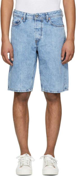 Blue Keeshort Denim Shorts
