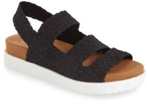 Bernie Mev. 'Crisp' Woven Platform Sandal