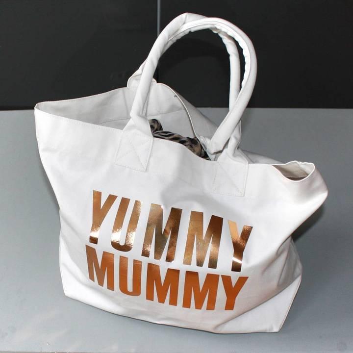 Love Lammie & Co Yummy Mummy Print Baby Bag