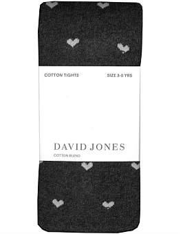 David Jones Heart Tights