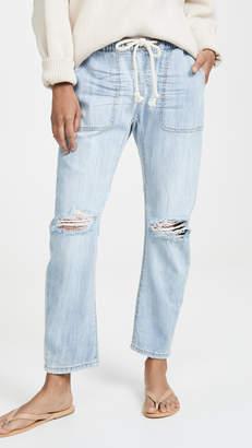 One Teaspoon Shabbies Drawstring Boyfriend Jeans