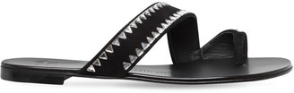 Giuseppe Zanotti Design 10mm Swarovski Suede Sandals