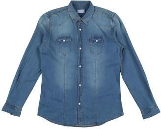 Peuterey Denim shirts - Item 42639032JC