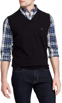 Chaps V-Neck Cotton Sweater Vest