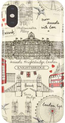 Harrods London Sketch iPhone XR Case