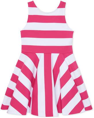 Polo Ralph Lauren Ralph Lauren Striped Fit & Flare Dress, Toddler Girls