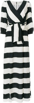 Alice + Olivia Alice+Olivia striped tie waist maxi dress
