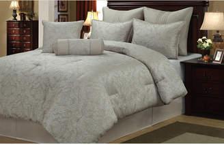 Welcome Industrial/universal Home Prescott 8 Piece Comforter Set Queen